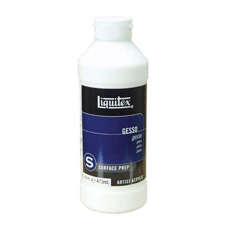 Princeton Gesso (Liquitex White Acrylic Gesso - Surface Prep Medium - 16)