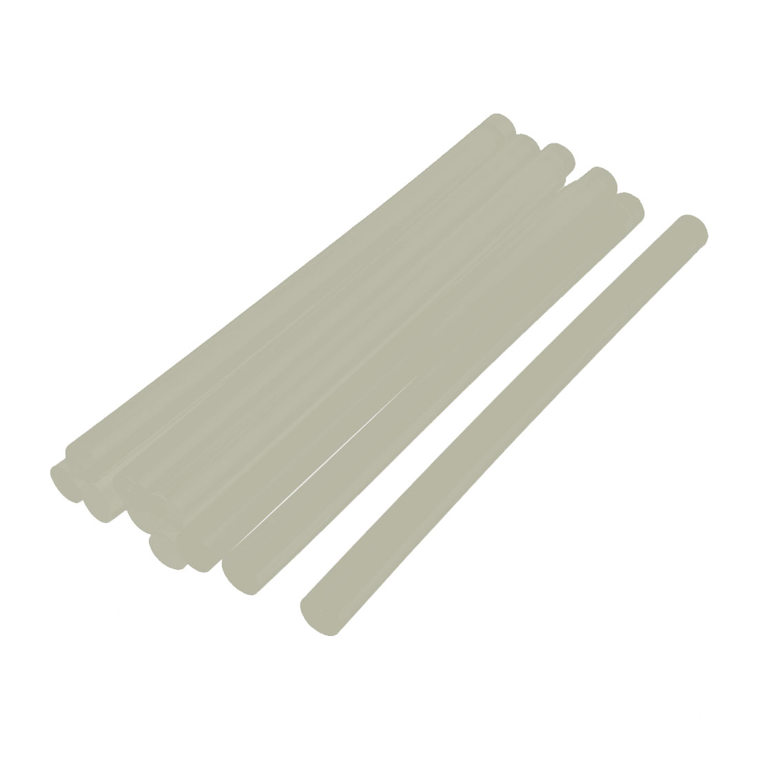 10Pcs 177mm x 11mm Hot Melt Glue Stick Clear for Electric Tool Heating Glue by Unique-Bargains