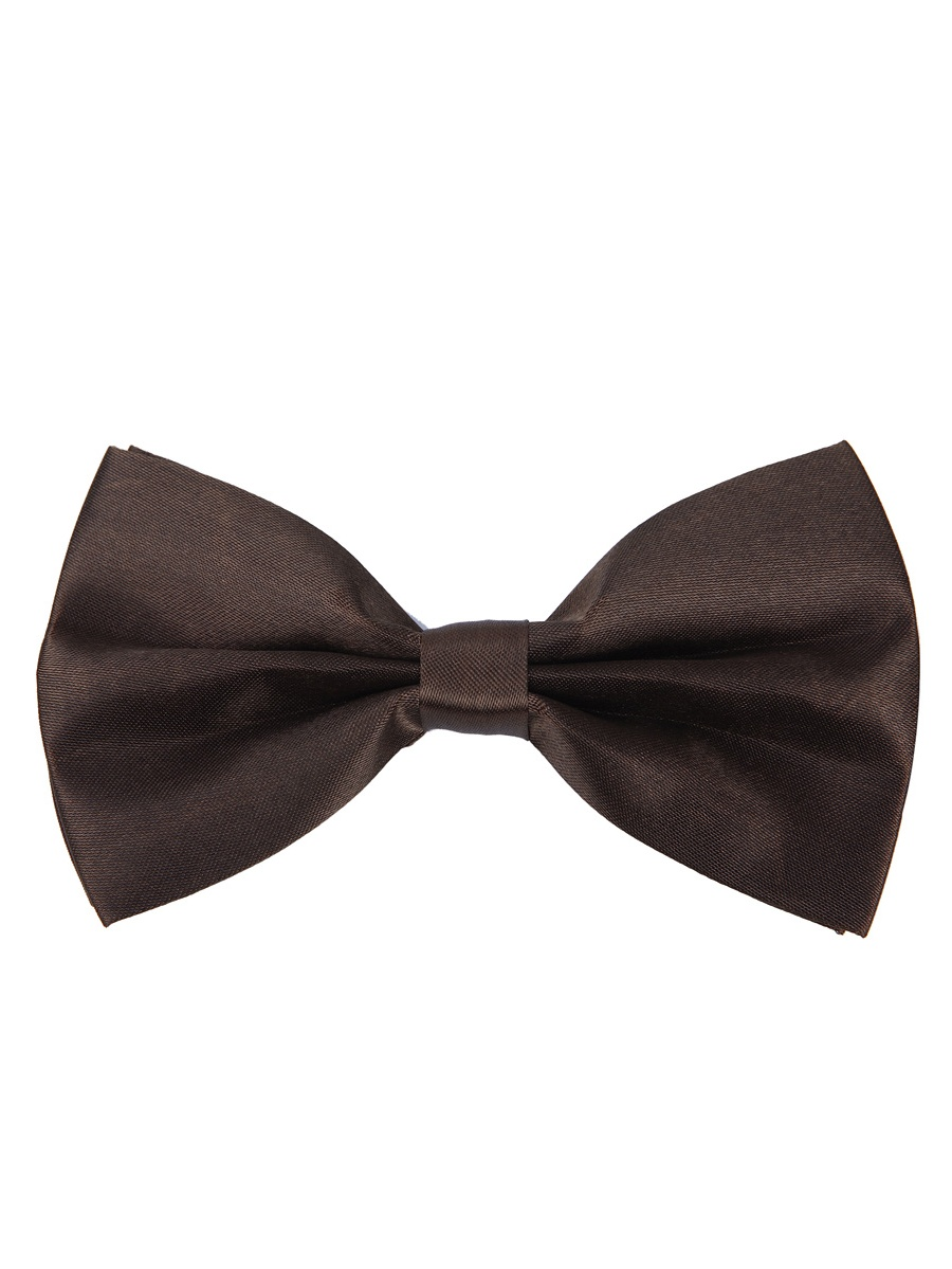 Kids Small Solid Color Adjustable Tuxedo Neck Bowtie Bow Tie