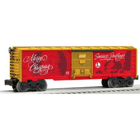 Lionel Trains Personalized Christmas Message (Personalized Train)
