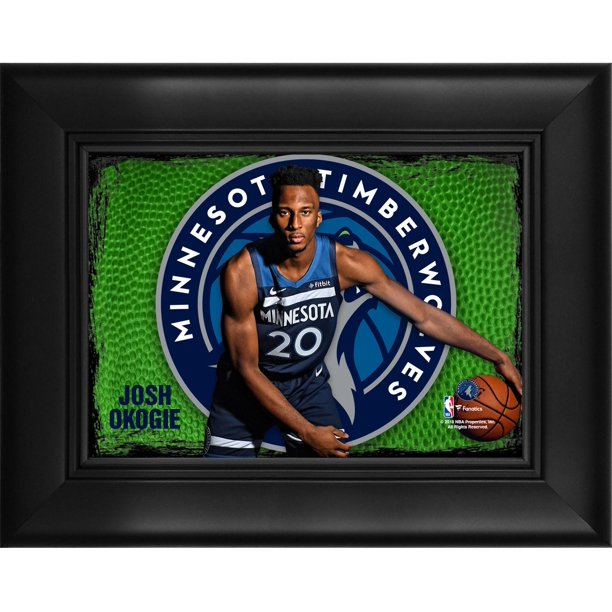 "Josh Okogie Minnesota Timberwolves Framed 5"" x 7"" Player Collage"