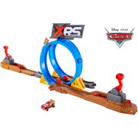 Disney/Pixar Cars XRS Mud Racing Crash Challenge Playset
