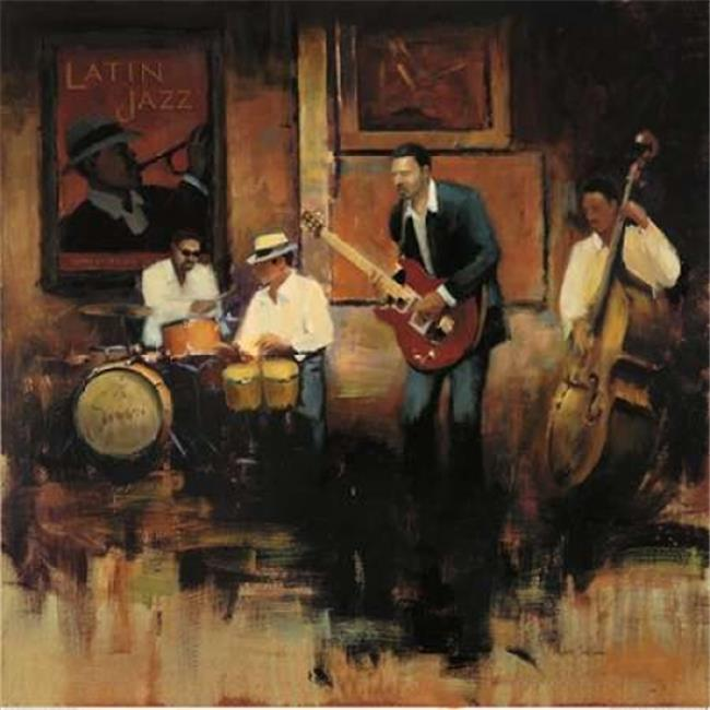 Latin Jazz Poster Print by Miles Sullivan, 12 x 12 - Small - image 1 of 1