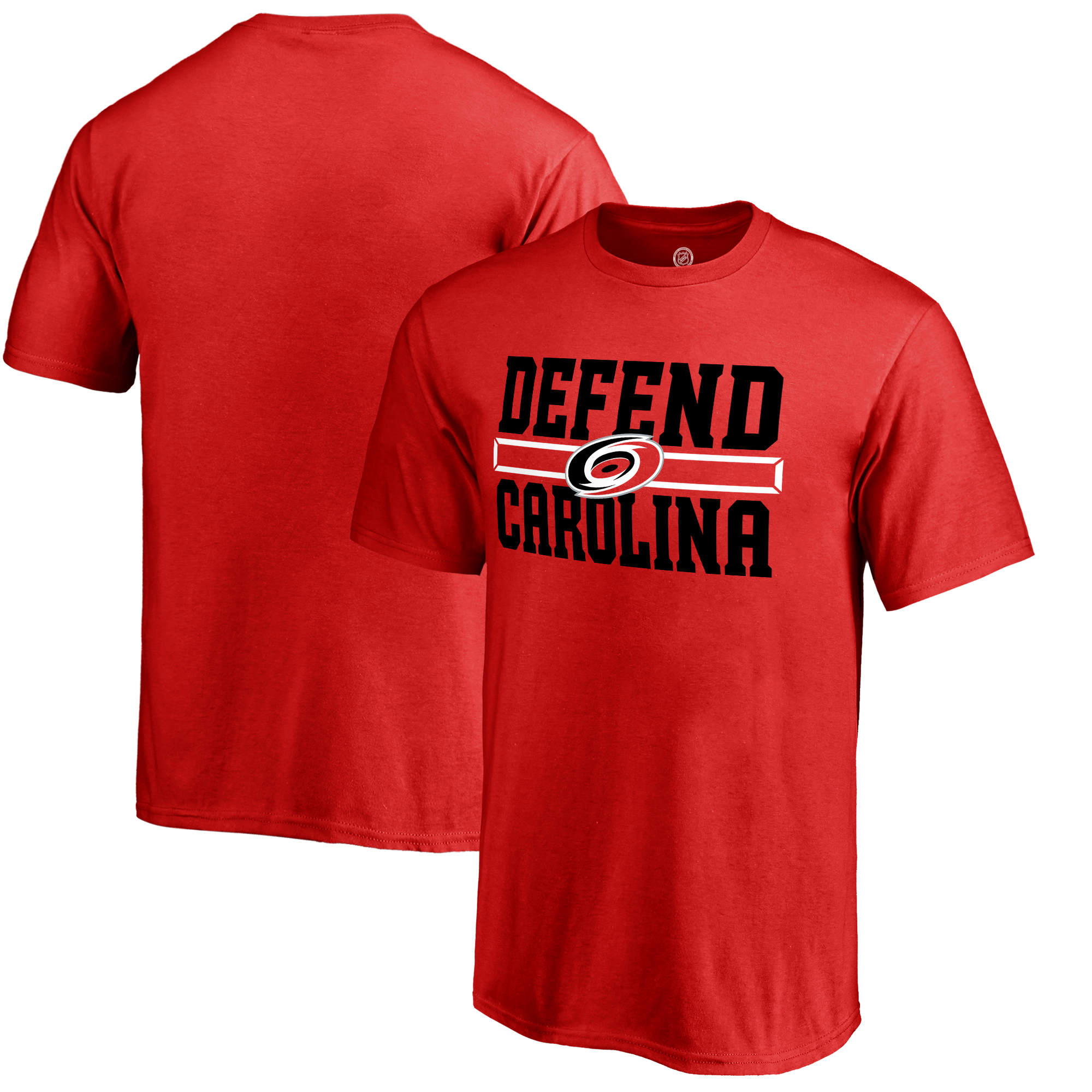 Carolina Hurricanes Fanatics Branded Youth Hometown Collection Defend T-Shirt - Red