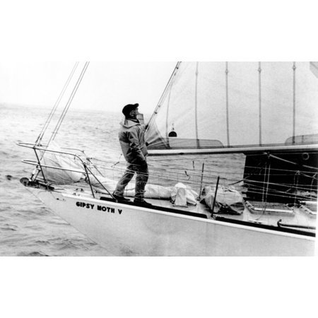 Sir Francis Chichester-The Yachtsman Making Last-Minute ...