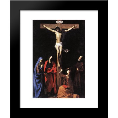 Christ On The Cross With The Virgin Mary Magdalene St John And St