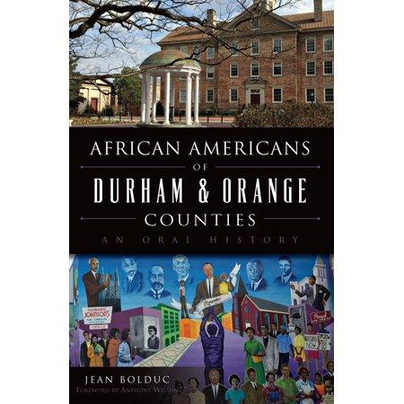 African Americans of Durham & Orange Counties -