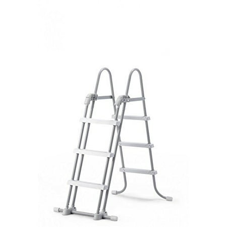 Intex Deluxe Pool Ladder With Removable Steps For 36 Inch And 42 Wall Height Above Ground Pools