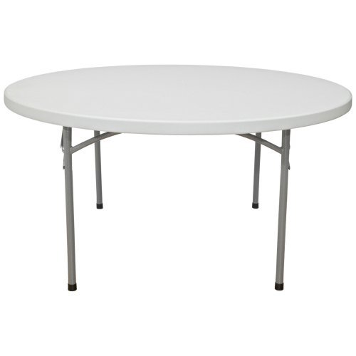 National Public Seating BT Series 71 in. Round Folding Table 10 or 20 Pack