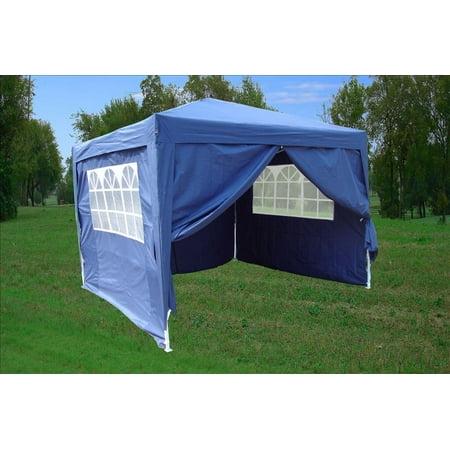 CS 10'x10' Navy Blue EZ Pop up Canopy Party Tent Instant ...
