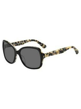 fdad1c6e96ca9 Product Image Sunglasses Kate Spade Karalyn S 0086 Dark Havana   LA brown  gradient polz lens