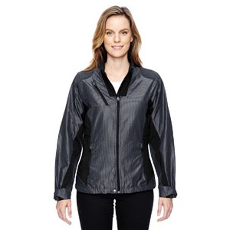 Ash City   North End Sport Red Ladies Aero Interactive Two Tone Lightweight Jacket   Carbon 456   2Xl 78807