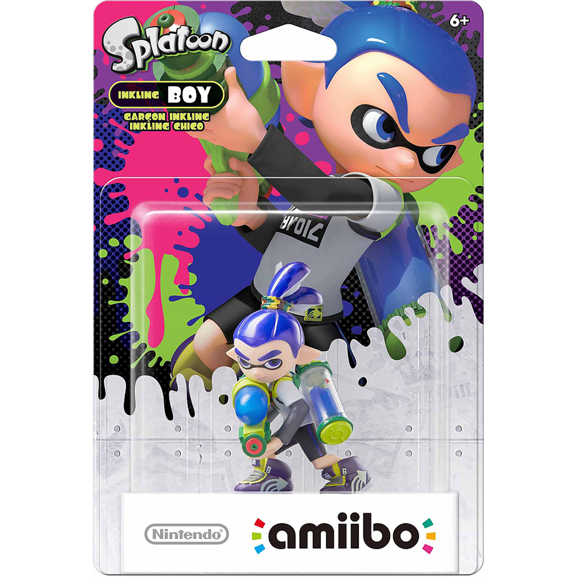 Inkling Boy Splatoon Series Amiibo (Nintendo WiiU or Nintendo 3DS)