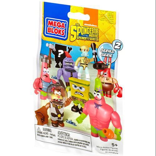 Mega Bloks Spongebob Squarepants Series 2 Mystery Pack