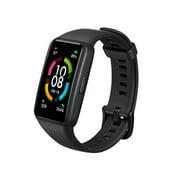 HUAWEI Honor Band 6 Fitness Tracker Smart Bracelet 1.47-Inch AMOLED Screen  Bluetooth 5.0 10 Sport Modes Blood Oxygen/Heart Rate/Sleep/Female Health Monitor 5ATM Waterproof Smart Watch