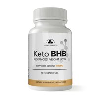 Totally Products Keto BHB Advanced Weight Loss Supplement Capsules, 60 Ct