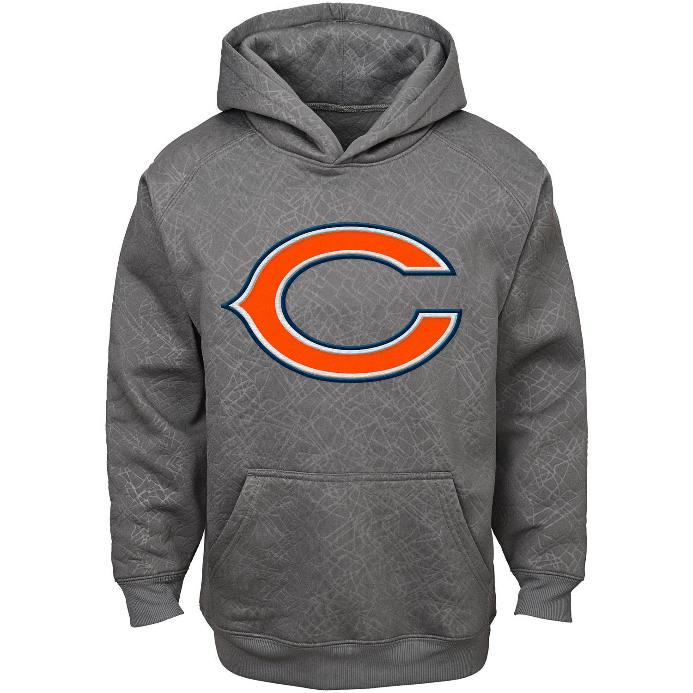 NFL Boys' Chicago Bears SyntheticHooded Fleece Top
