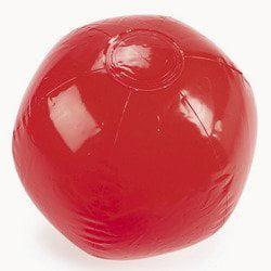 Beach Ball Bulk (RED BEACH BALL 14