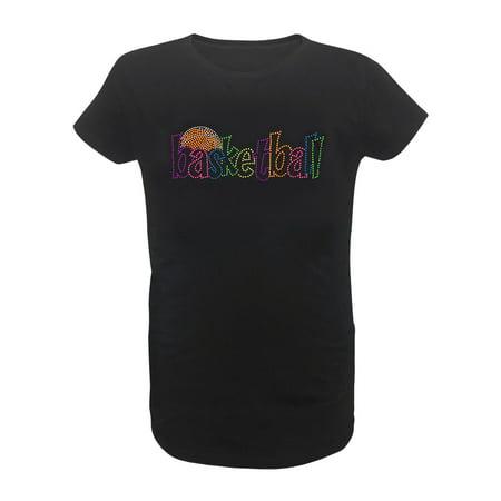 Zone Apparel Girl's Youth Basketball Stud T-Shirt - Girls Apparel