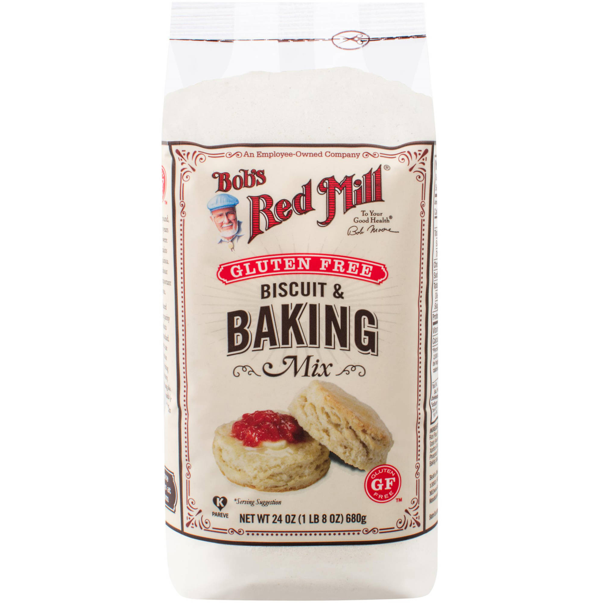 Bob's Red Mill Biscuit And Baking Mix, 24 oz (Pack of 4)