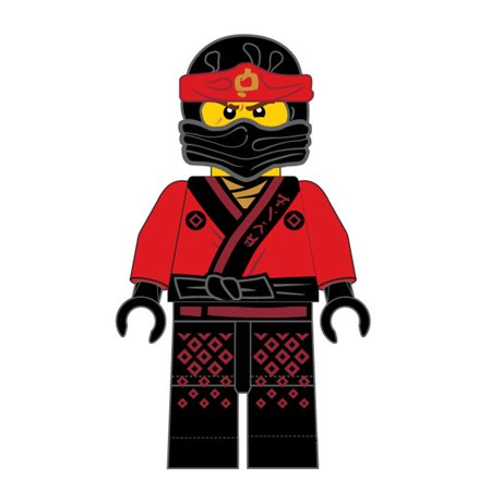 The LEGO Ninjago Movie Plush Pillow, 20-inch, Kids Character Pillow Buddy, Red Warrior