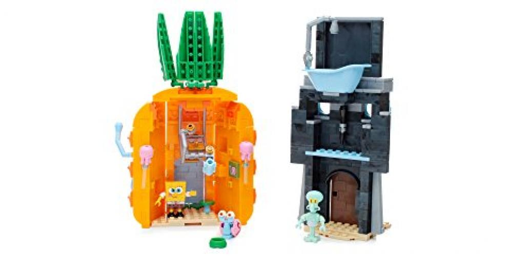 Mega Bloks SpongeBob SquarePants Bad Neighbors Playset by Mattel