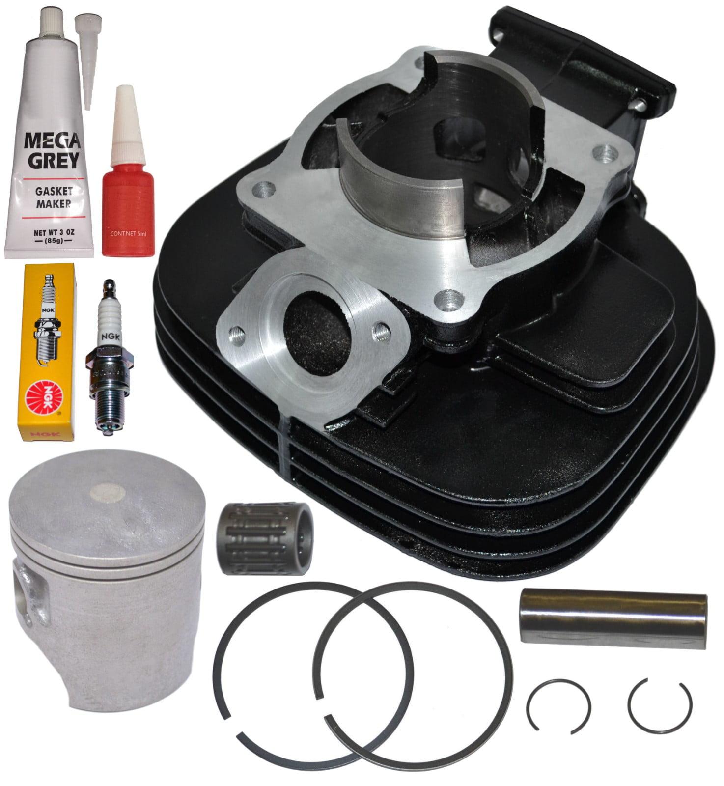 Top Notch Parts Yamaha Blaster 200 YFS200 Cylinder Piston Rings Gasket Bearing Kit Set