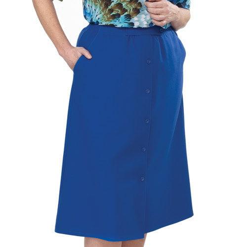 Silvert's Women's Elastic Waist Skirt