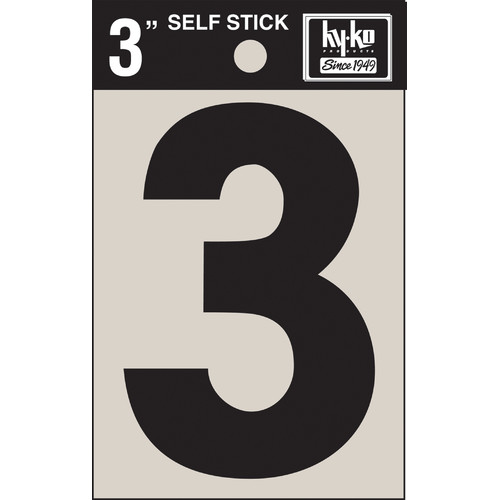 Hy-Ko Sticker House Number (Set of 10)
