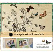 "1 Hour Album Scrapbook Kit 12""X12""-Field Notes"
