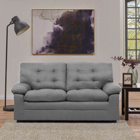 Mainstays Buchannan Upholstered Apartment Sofa, Multiple Colors - Homelegance 3 Piece Sofa