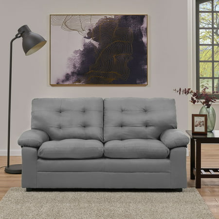 Mainstays Buchannan Upholstered Apartment Sofa, Multiple Colors