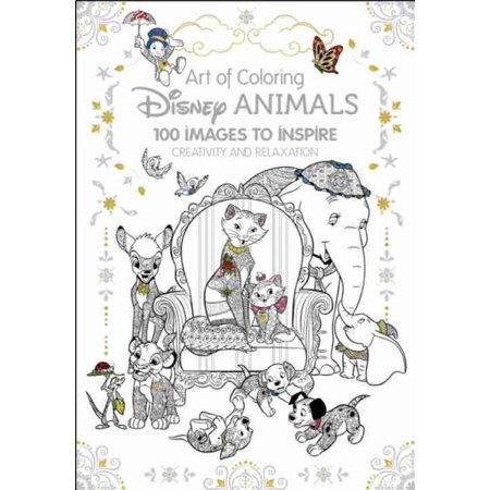 Art of Coloring: Disney Animals: 100 Images to Inspire Creativity and - Disney Princess Halloween Printable Coloring Pages