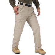 5.11 Tactical Men's Workwear Pant, 100% Cotton Canvas, Internal Knee Pad Ready, Khaki, 50, Style 74251L