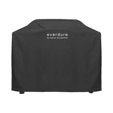 Everdure By Heston Blumenthal Long Grill Cover For FURNACE 52-Inch Propane Grill Everdure By Heston Blumenthal Long Grill Cover For FURNACE 52-Inch Propane Grill - HBG3COVER. HBG3COVER. Grill & Smoker Covers. The Everdure Grills by Heston Blumenthal Long Grill Cover for the Everdure FURNACE Propane Grill is designed to protect your portable charcoal grill from the elements. This cover is made of black heavy duty UV protected material for extra heft and Velcro straps for keeping your grill secure and enhancing overall reliability. The waterproof lining on this cover will ensure that your grill remains nice and dry....