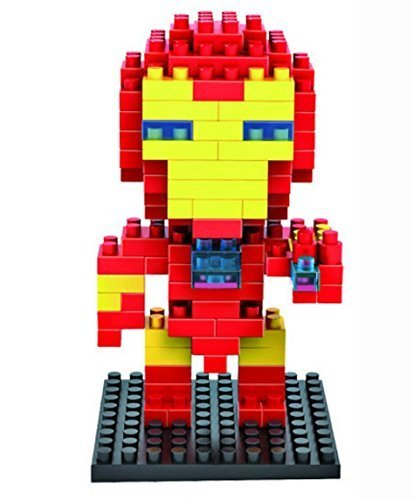 ZOZ LOZ Diamond Blocks Nanoblock the Avengers Iron Man Educational Toy 130pcs by LOZ