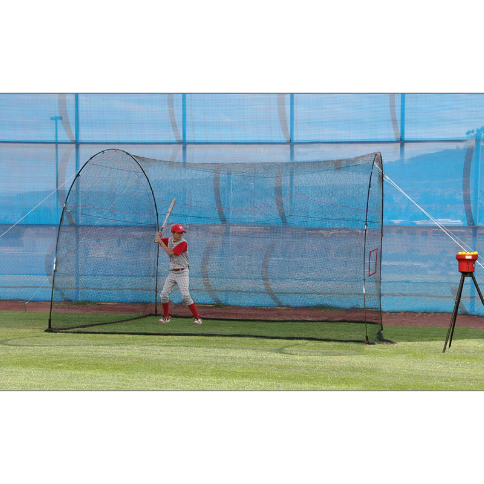 Trend Sports CR199 Heater HomeRun Batting Cage