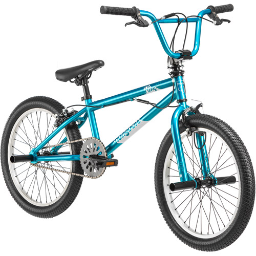 "20"" Mongoose Fling 100 Girls' Freestyle Bike, Teal"