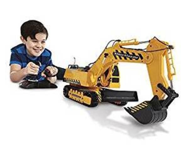 Kid Galaxy Mega Construction Remote Control Excavator & Bulldozer. 10 Function RC Toy... by Kid Galaxy