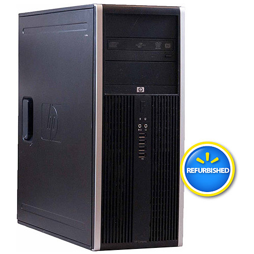 Refurbished HP 8100 Elite Mini Tower Desktop PC with Intel Core i10 Processor, 8GB Memory, 1TB Hard Drive and Windows 10 Pro (Monitor Not Included)