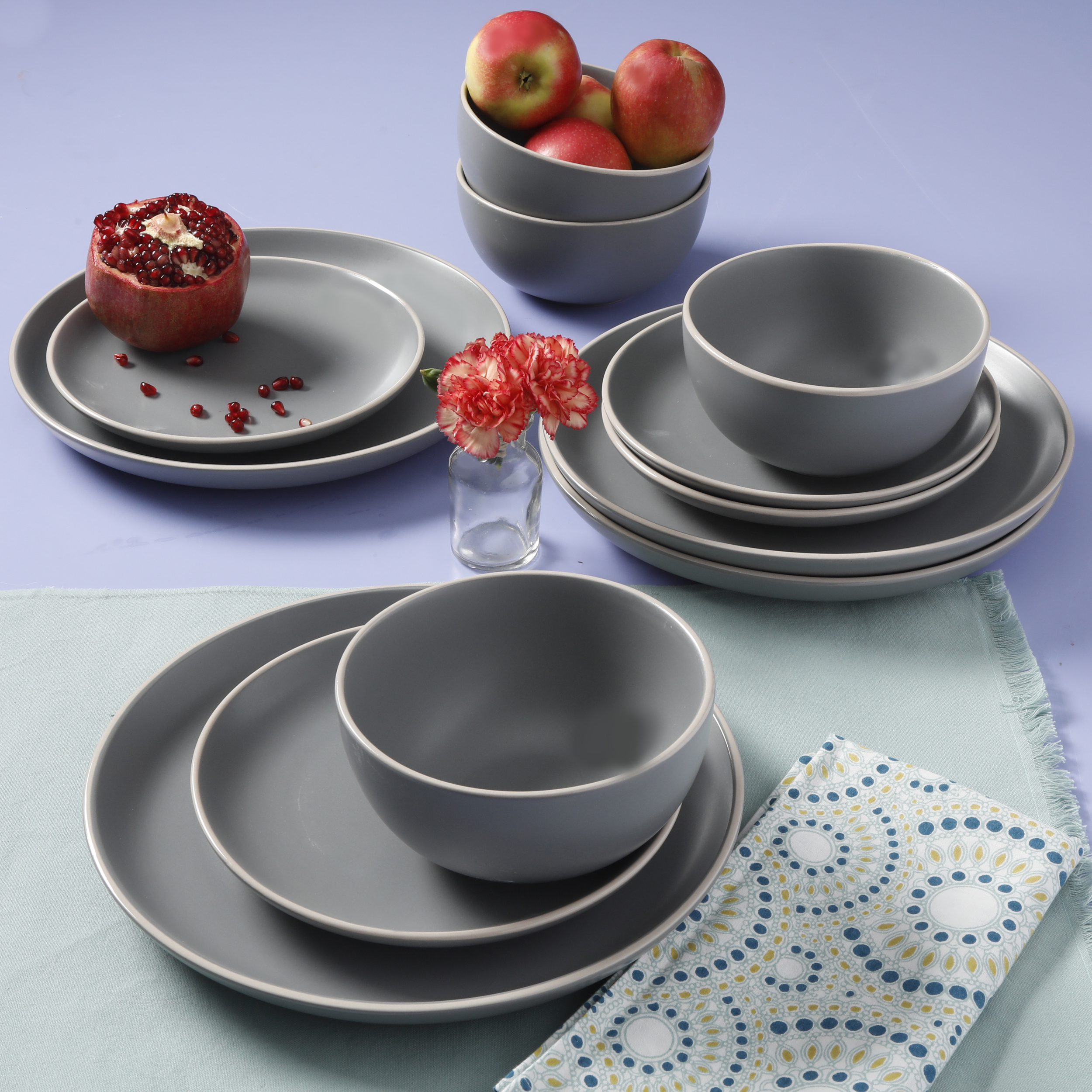 Better Homes Amp Gardens Zuri Matte 12 Piece Dinnerware Set