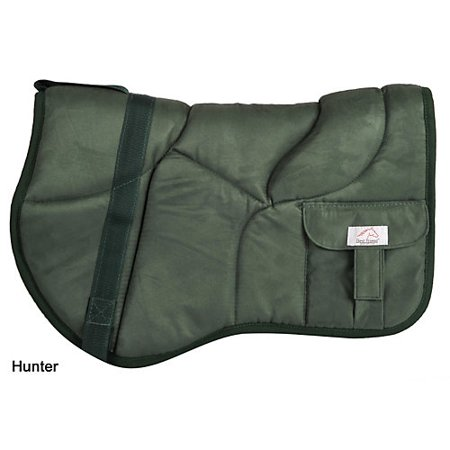 Bareback Pad - Best Friend Deluxe Trail Bareback Pad Hunter Green