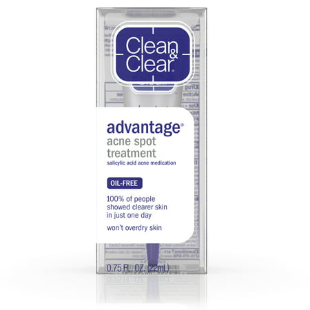 Clean & Clear Advantage Spot Treatment with Witch Hazel,.75 fl.