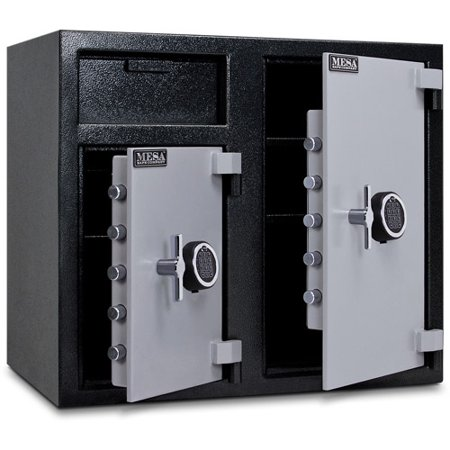 Mesa Safe MFL2731EE Wide Body Depository Safe, Dual Electronic Locks