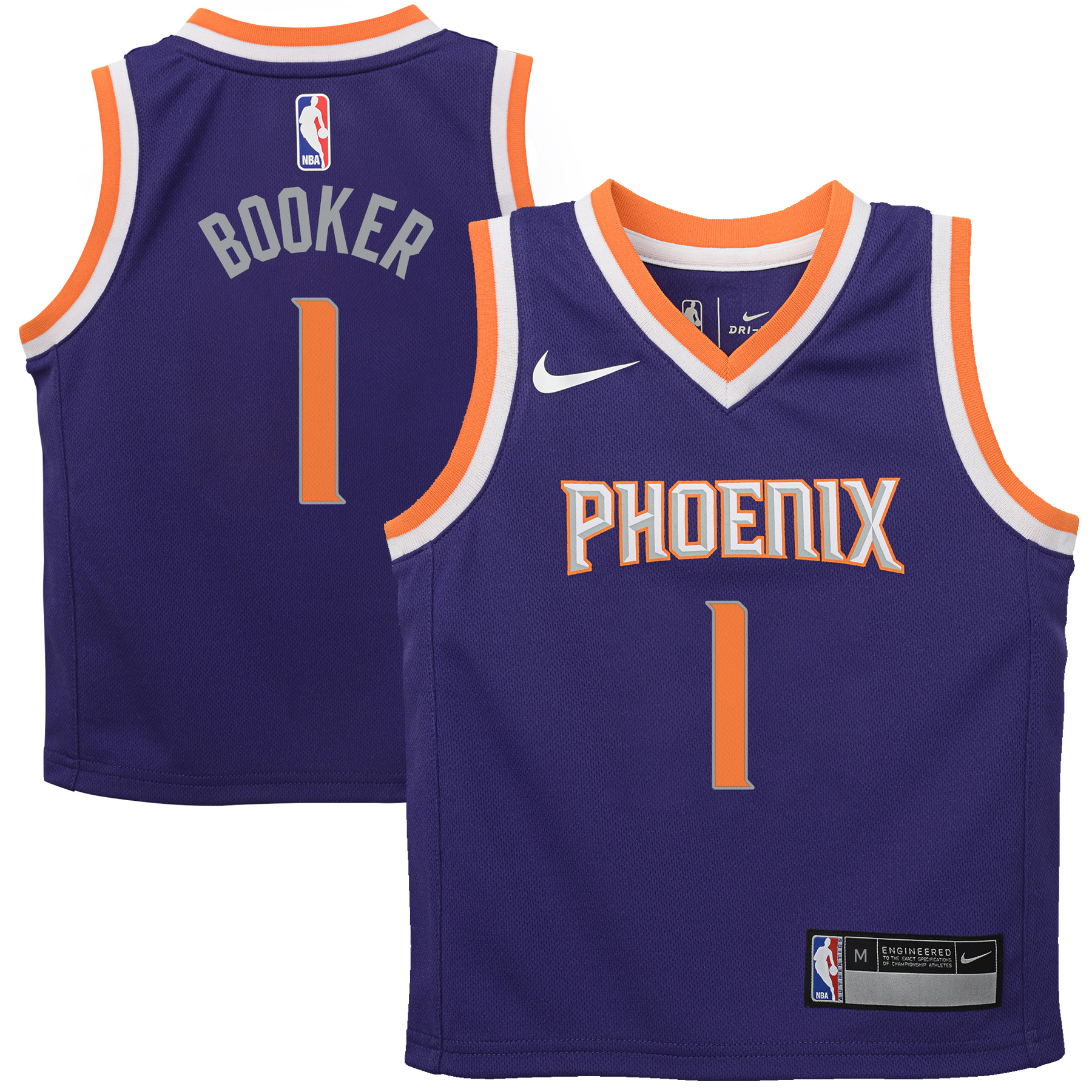 Devin Booker Phoenix Suns Nike Preschool Replica Jersey Purple - Icon Edition