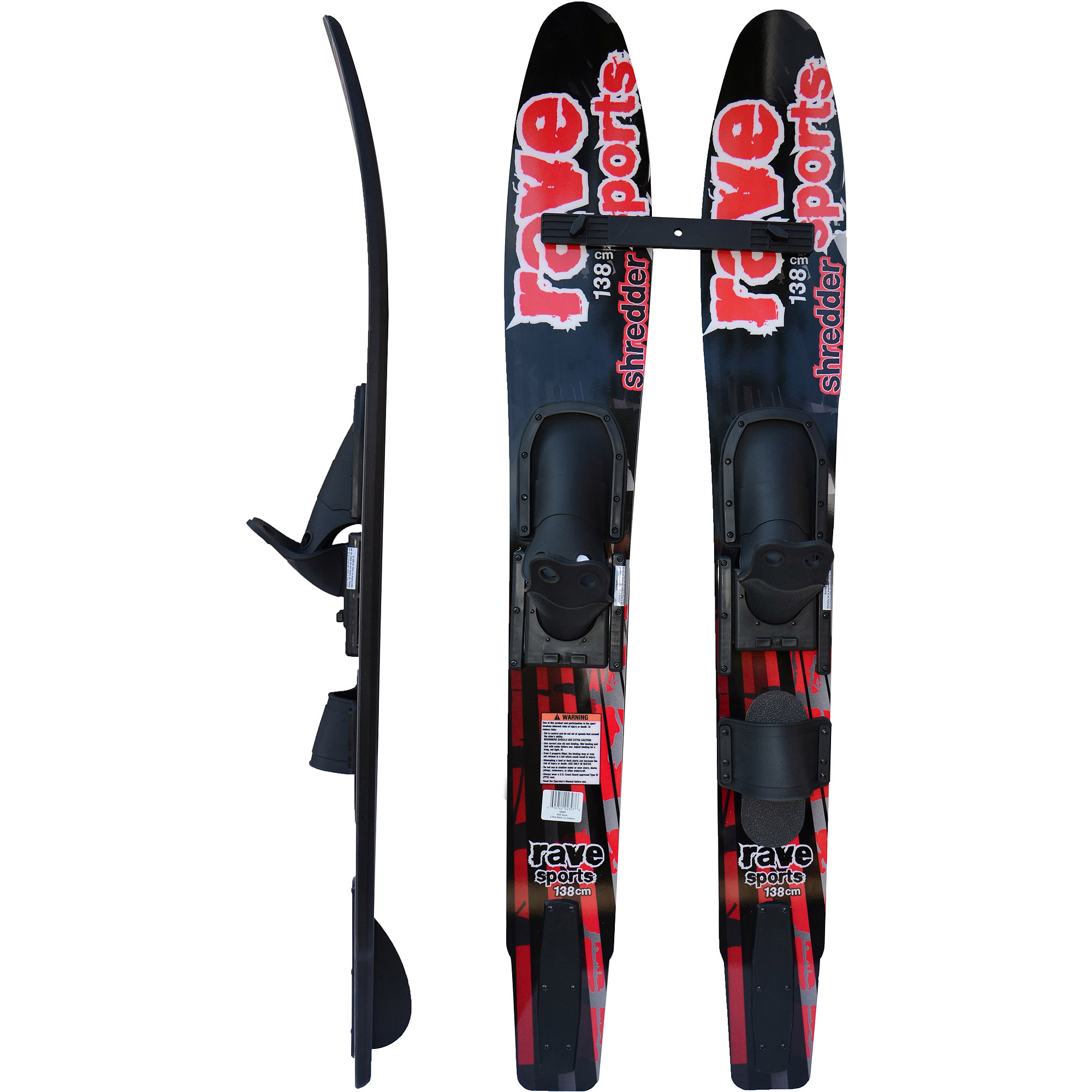Rave Sports Youth Jr. Shredder Combo 138 cm Water Skis by Rave Sports