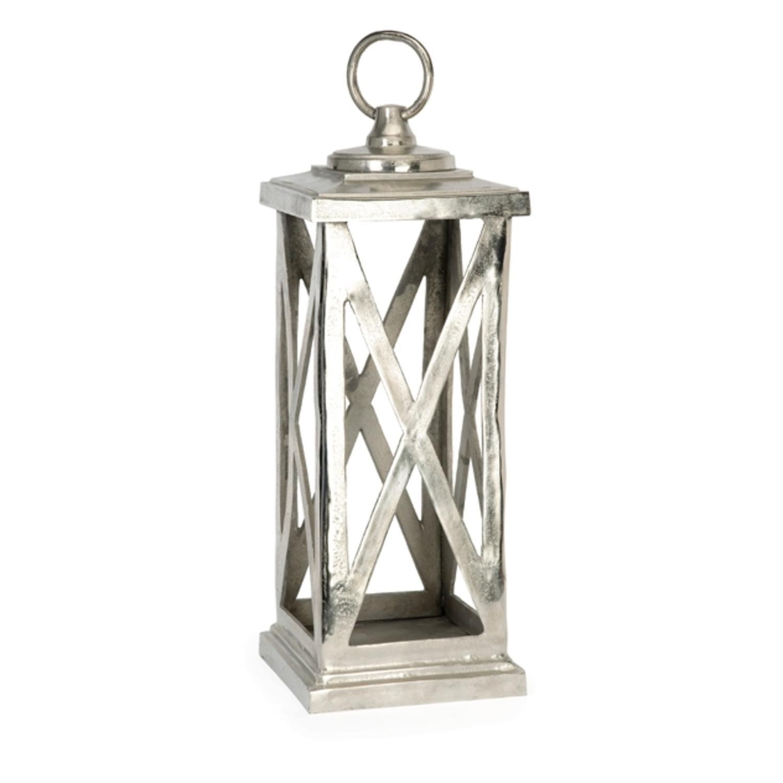 """27"""" Decorative Traditional Style Aluminum Candle Lantern"""