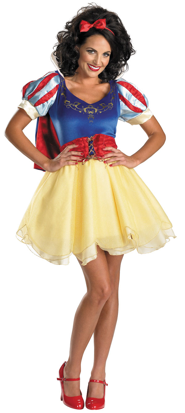 Snow White Sassy Adult Halloween Costume by Generic