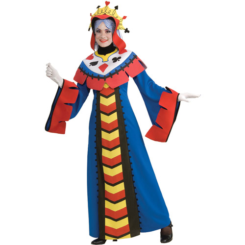 Playing Card Queen Adult Halloween Costume
