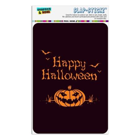 Happy Halloween Bag (Happy Halloween Holiday Pumpkin Jack-o-lantern Bats Home Business Office)